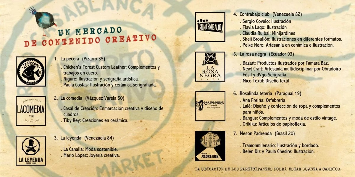 Distrito creativo, mercado de artistas, artesanos y diseñadores locales