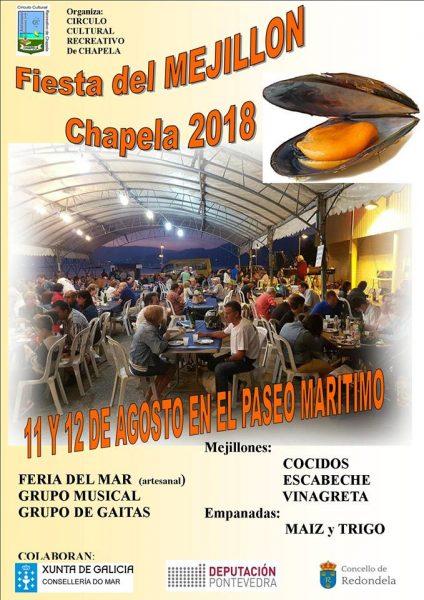 Fiesta del Mejillón 2018 en Chapela