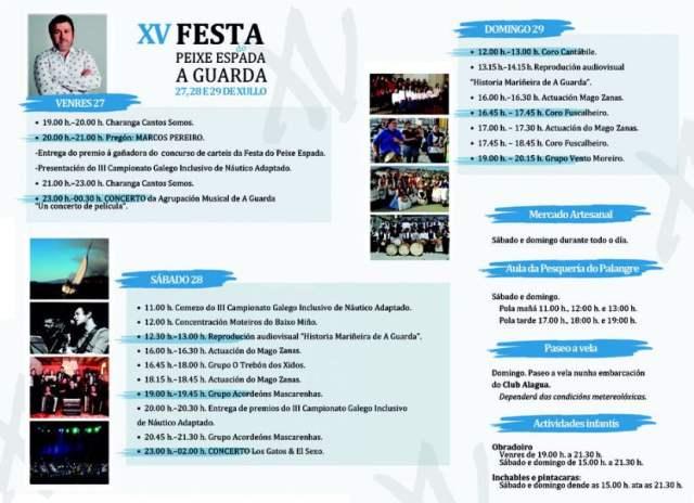 Fiesta del Peixe Espada 2018 de A Guarda
