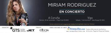 Miriam Rodríguez en concierto   Sala Rouge