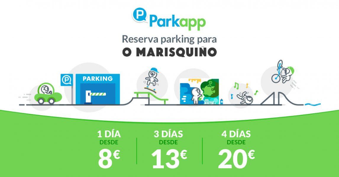 Ofertas de parking con Parkapp para O'MARISQUIÑO XVIII