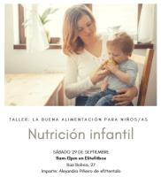 Taller gratuito de Nutrición infantil – Elitefitbox