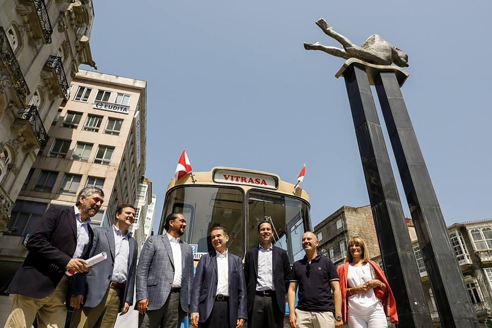 Bus histórico de Vitrasa gratis con motivo del Día Europeo Sin Coches