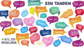 Tándem colectivo para practicar idiomas