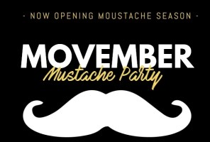 Movember Party en Barrocco