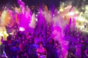 Carrera nocturna Holi Life Neón |Moaña