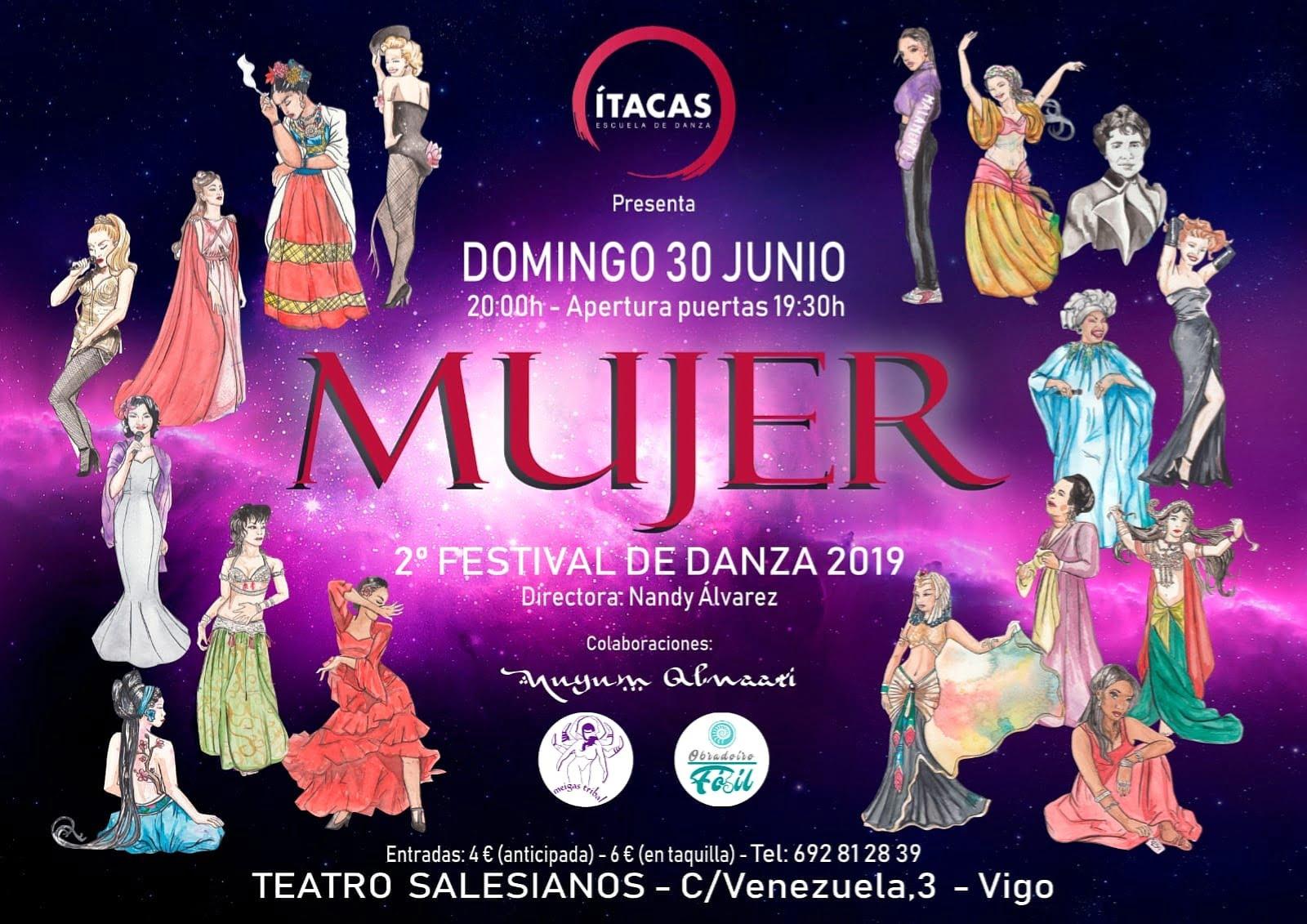 MUJER – 2° festival de danza ( Ítacas – Escuela de Danza)