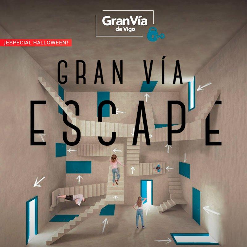 Escape Room por Halloween en el Centro Comercial Gran Vía