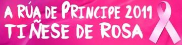 A Rúa Príncipe Tíñese de Rosa 2019