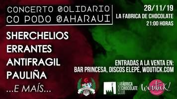 Concierto Solidario con el Pueblo Saharaui