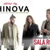 Shinova en la Sala Rouge el 29 de noviembre a las 22:00