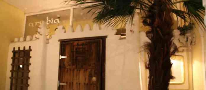 Entrada restaurante Arabia