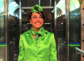 Romina R. Medina protagoniza Me encanta ser Azafata en la Escalera de Jacob