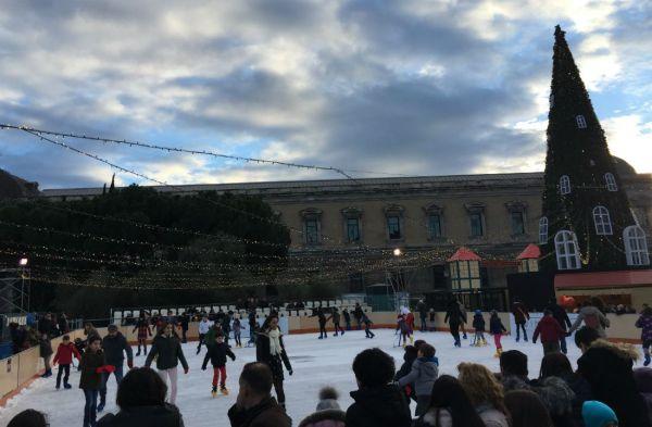 PIsta de hielo de Colón