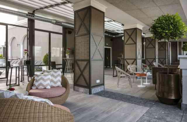 La renovada azotea del Hotel Emperador