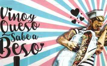 Llega a Madrid la ruta Vino y Queso sabe a Beso