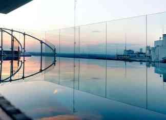 La espectacular azotea del Hotel Índigo