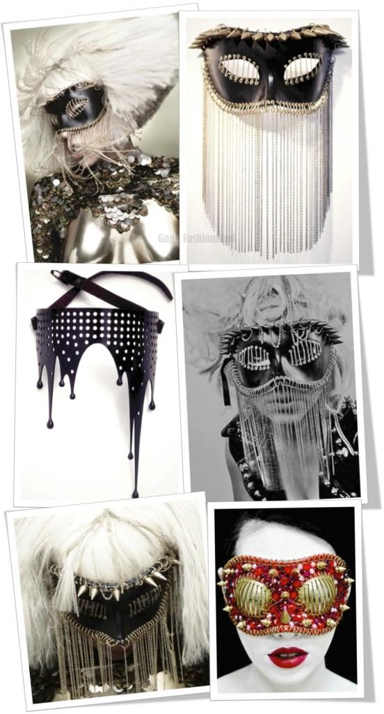 Lady Gaga. Máscara de Joji Kojima. gagafashionland