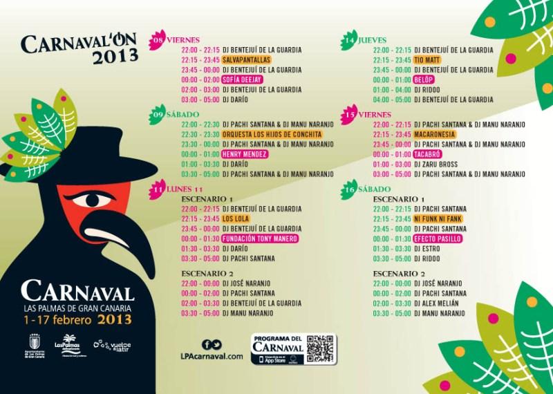 Programa Carnaval ON