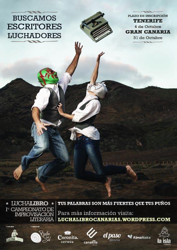 Cartel Lucha Libro 2013