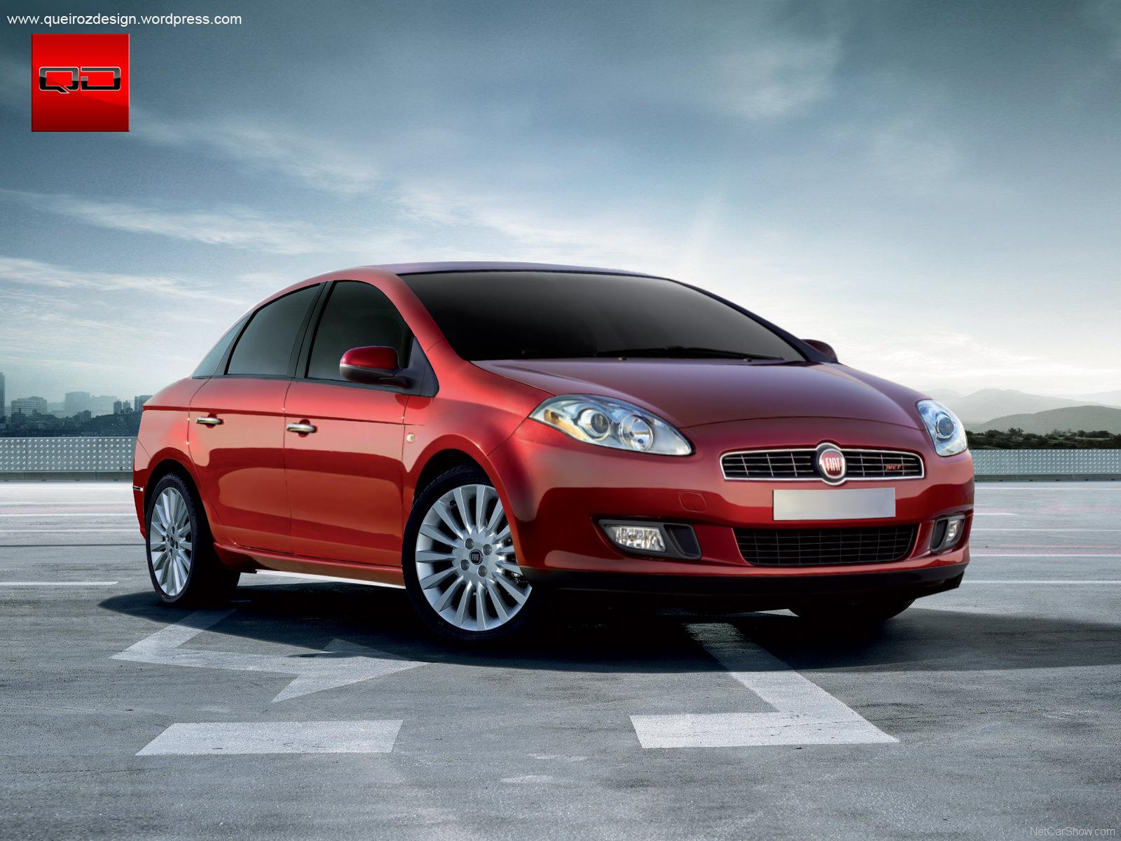 Fiat Linea/Bravo sedan - Clique na Imagem para Ampliar