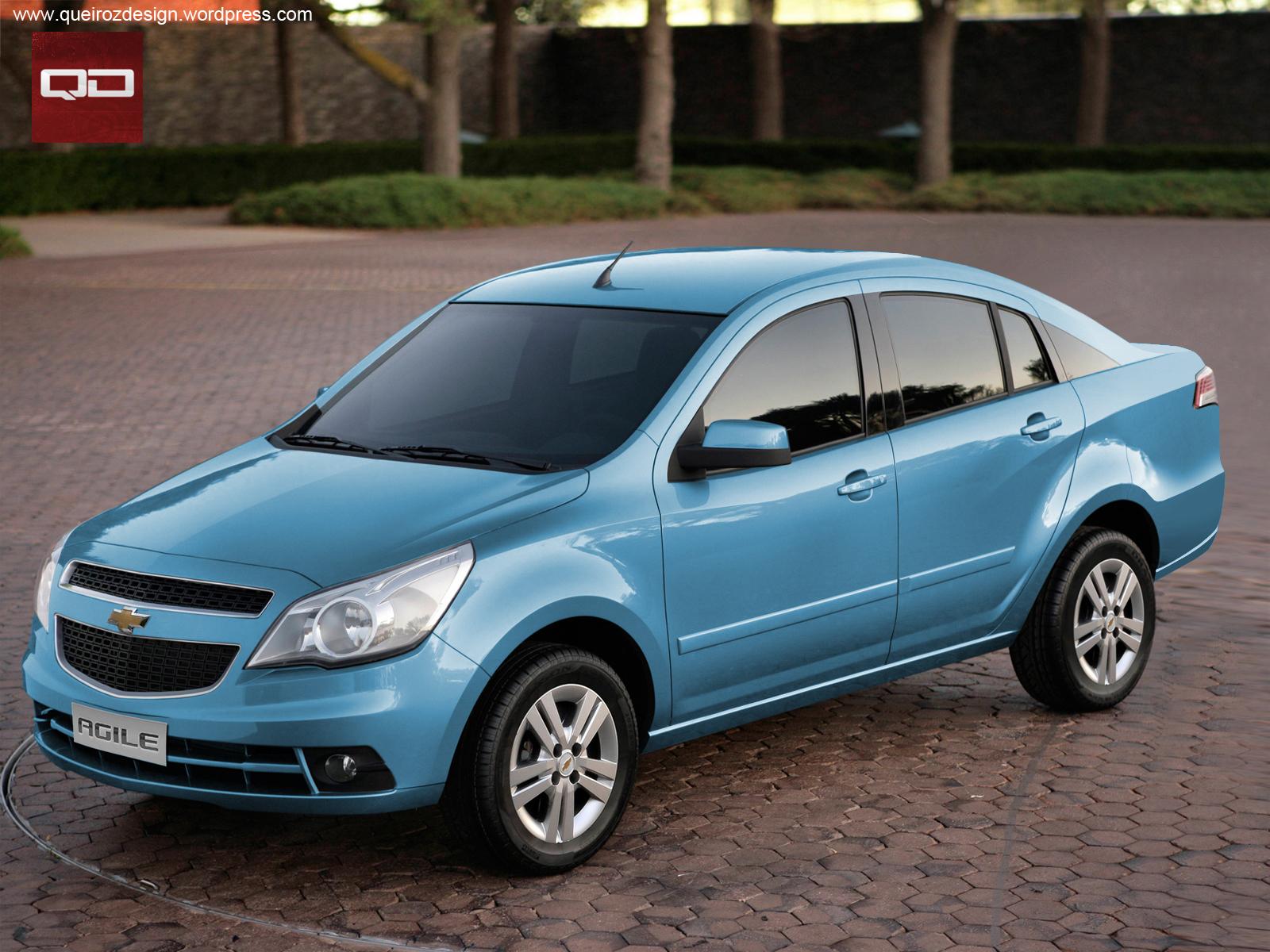 Chevrolet Agile Sedan - Clique na Imagem para Ampliar