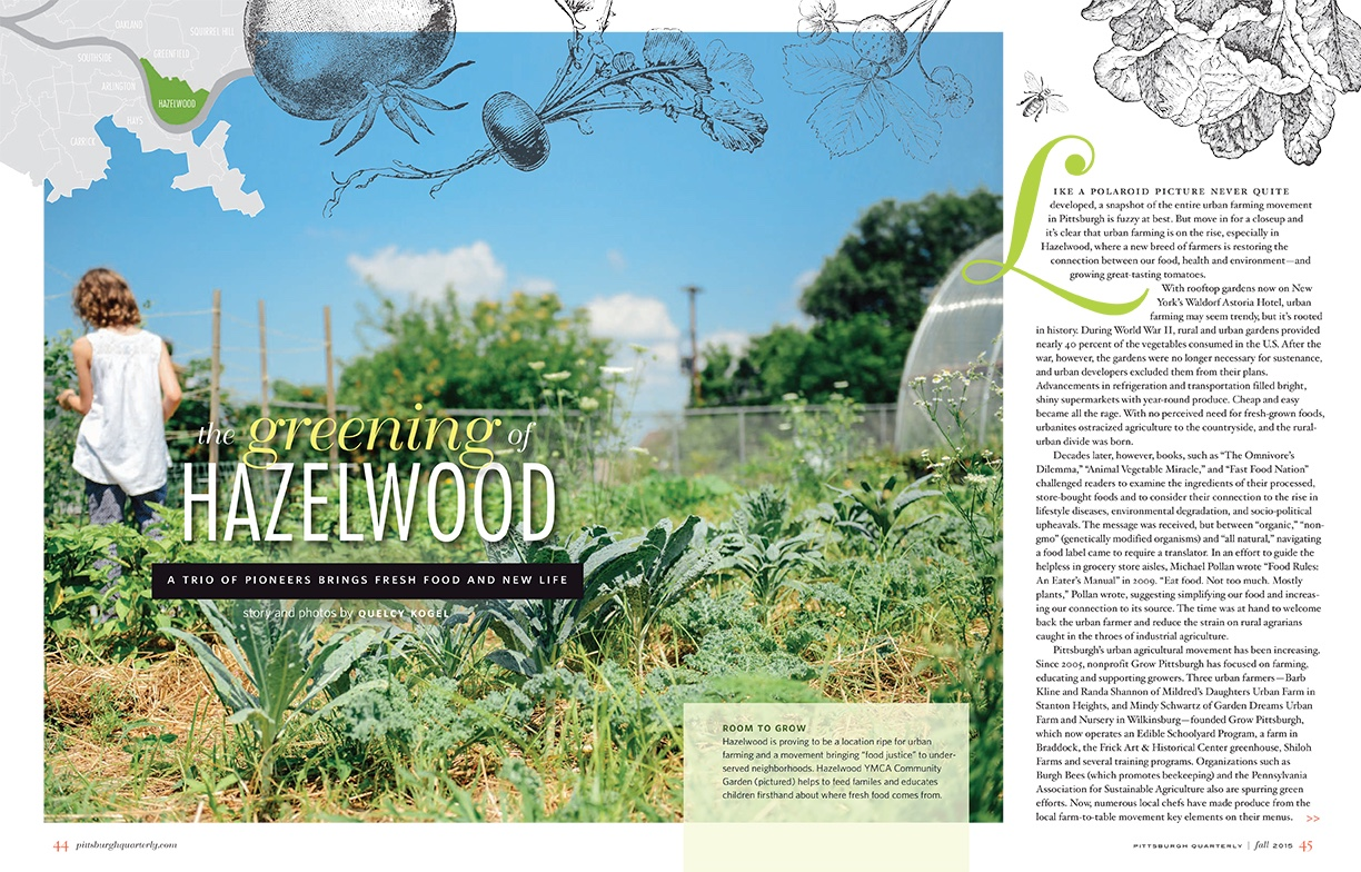 The Greening of Hazelwood
