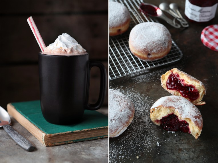Hot Cocoa and Donuts Styled by Quelcy
