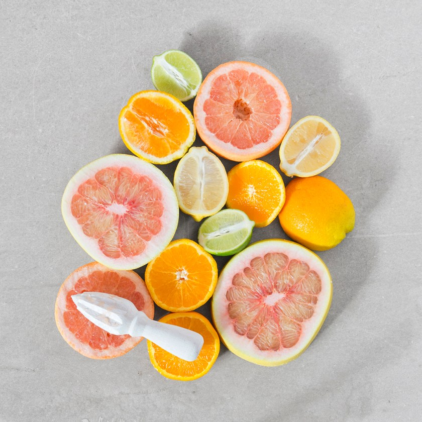 """""""Simply Seasonal Citrus"""" Food Styling for TABLE Magazine Winter Issue // www.Quelcy.com"""