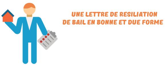 lettre resiliation bail mutation professionnelle