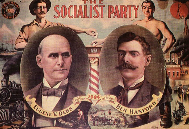 Socialist Party campaign poster 1904