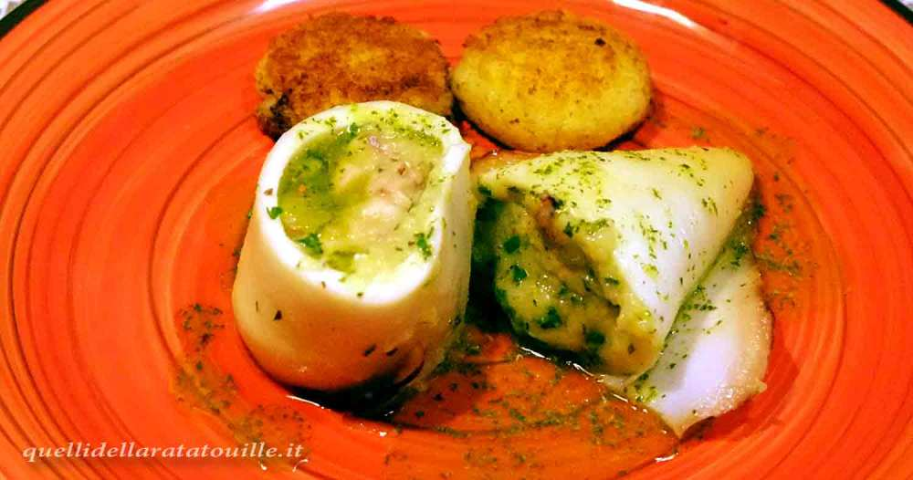 calamari ripieni con patate
