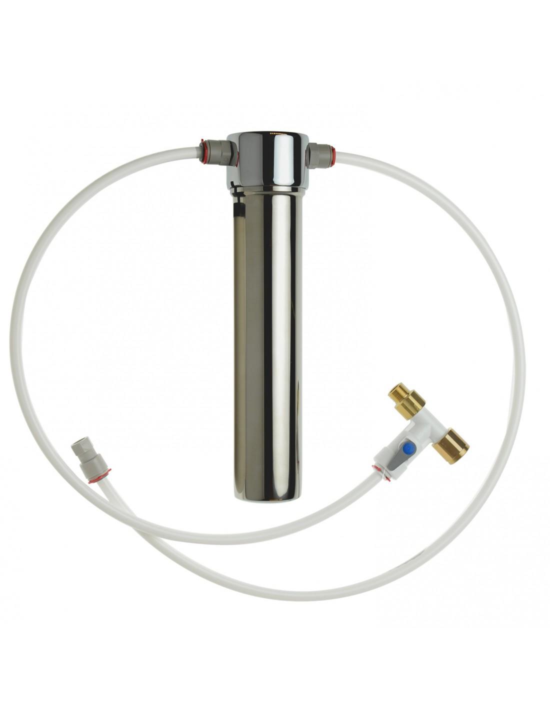 Einbau Wasserfilter Aus Edelstahl Zur Trinkwasserreinigung