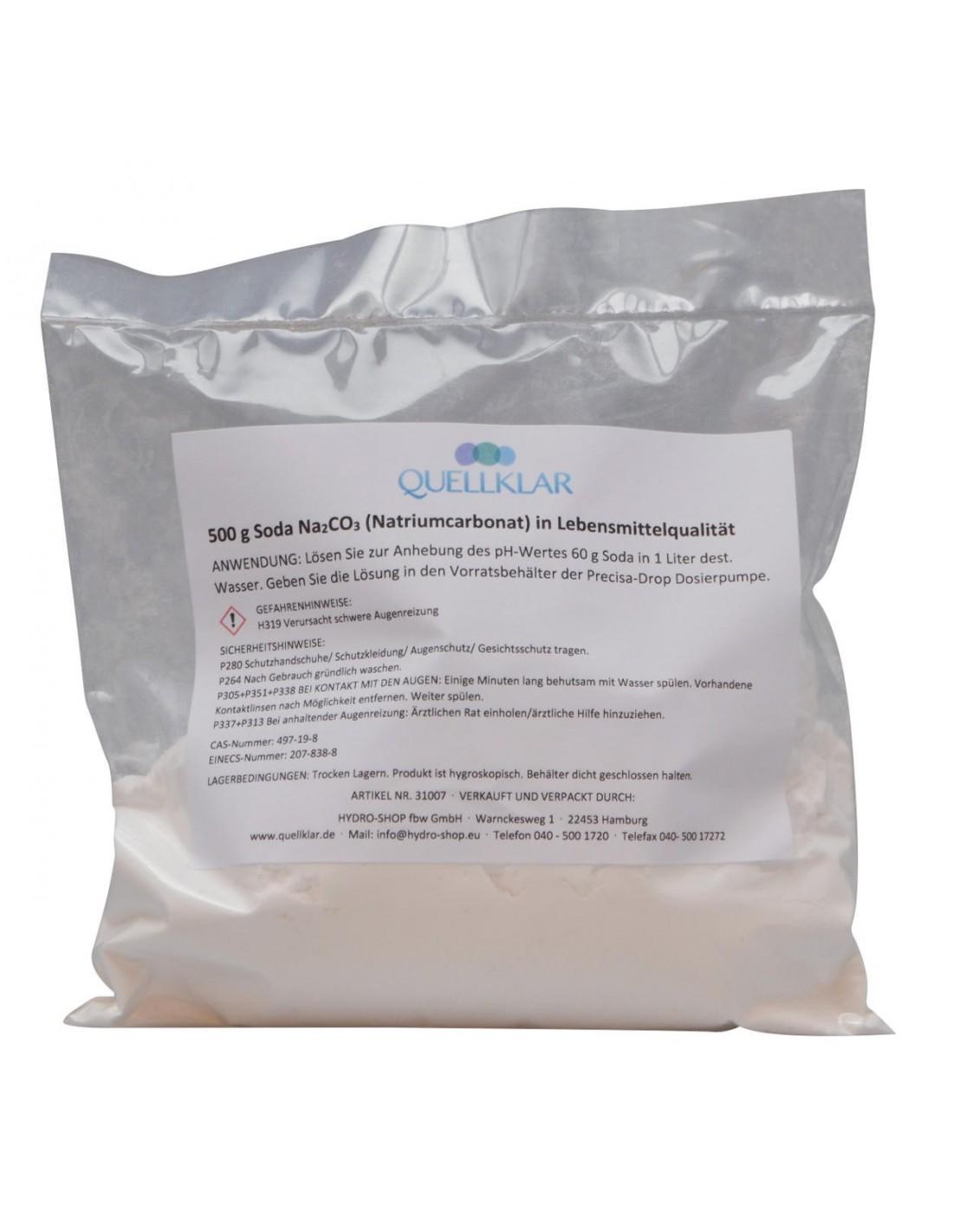 Soda Natriumcarbonat Pulver Zur Ph-Wert Anhebung