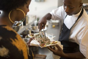 Toronto, ON- Canada: July 28: __Little Dumplings owner Bashir Muyne is doing a private dinner showcasing Moor cuisine (Muslims from North Africa, Iberia and Malta during the Middle Ages).__Marcus Oleniuk-Toronto Star________ Marcus Oleniuk/Toronto Star