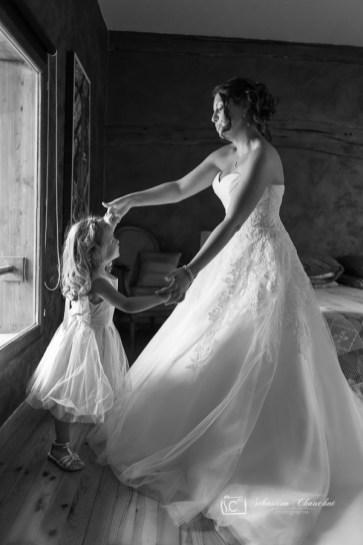 Les photos de préraratifs de la mariée sont pleins de surprises