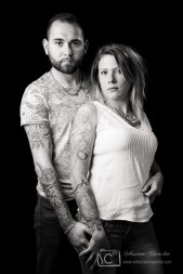 portraits tatouages en studio