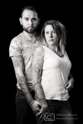 portraits tatouages en studio