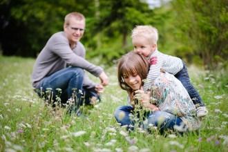 Séance famille en extérieur