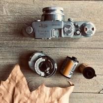 Un leica vissant, de la Kodak TriX. Il est où le bonheur ? Dans la poche.