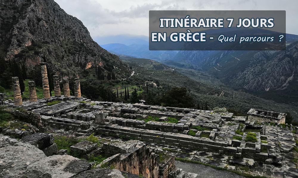 Itinéraire 7 jours en Grèce – Quel parcours ?