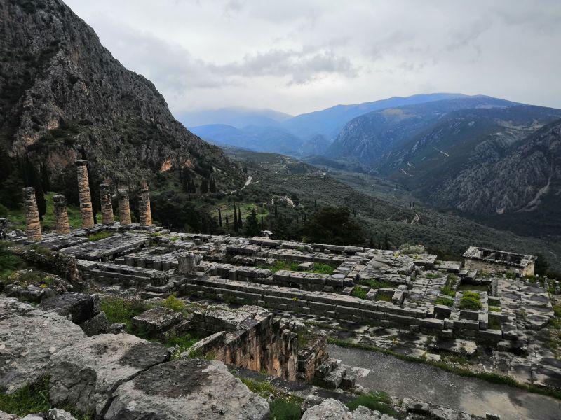Temple d'Apollon Delphes