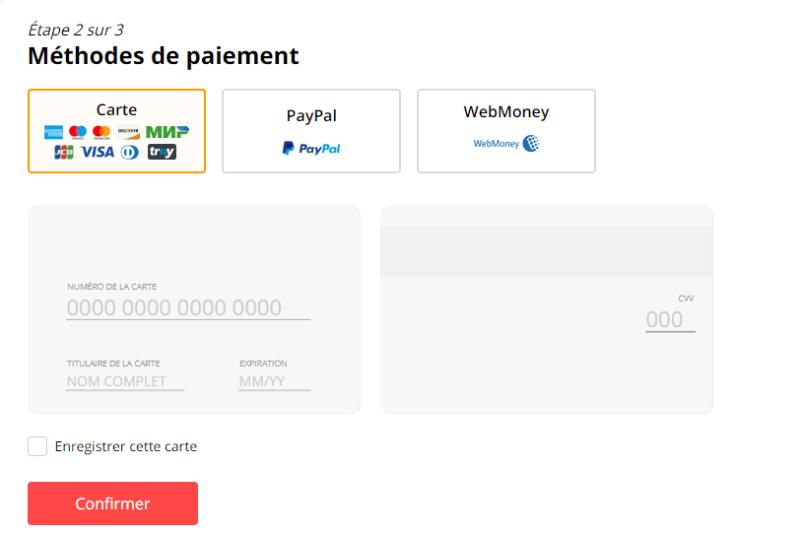 Mode de paiement Aliexpress