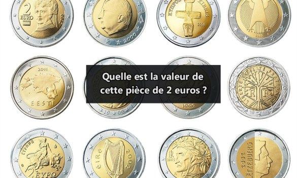 Valeur pièce 2 euros