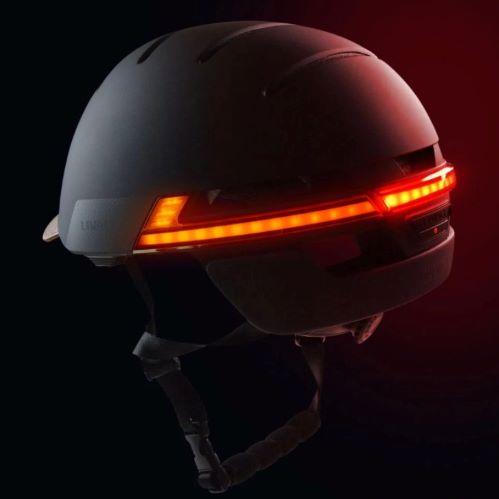 Livall BH 51 casque connecté éclairage arrière vue ,comparatif casque connecté pour vélo