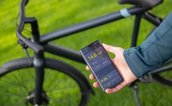 VanMoof S3 vélo électrique connecté zoom application