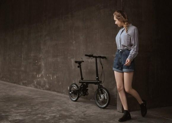 Xiaomi Mi Smart vélo électrique pliant léger pas cher taille réelle