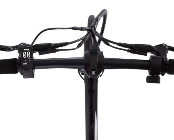guidon Carbo X vélo électrqique pliant haut de gamme ultra léger modèle X