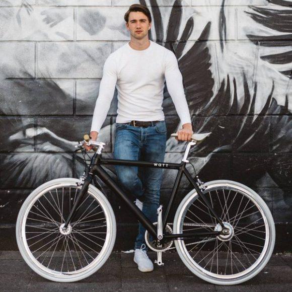 Watt-NEW-YORK vélo fixie électrique model