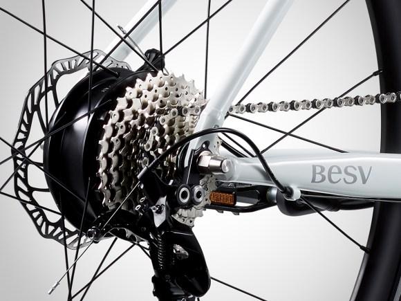 BESV vélo électrique JF1 sportif cassette